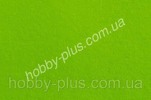 Фетр мягкий 1.4 мм, ЛАЙМ, 20x30 см, Hobby&You