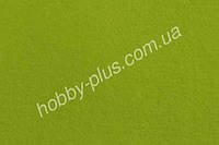 Фетр мягкий 1.4 мм, ЯРКО-ЗЕЛЕНЫЙ, 20x30 см, Hobby&You
