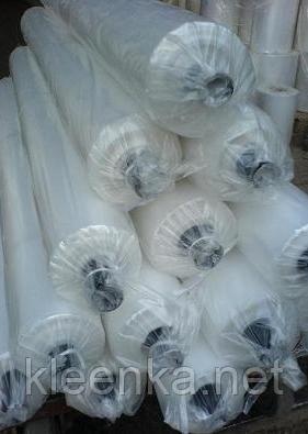 Пленка полиэтиленовая для тепло- и гидроизоляции  в рулонах 100 мкм толщина, 2,4 м ширина, 1,2 м рукав, фото 2