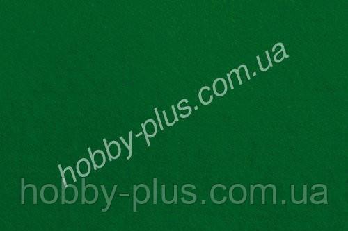 Фетр мягкий 1.4 мм, ЗЕЛЕНЫЙ, 20x30 см, Hobby&You
