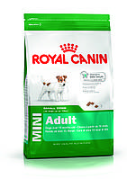 Сухой корм вес Royal Canin (Роял Канин ) MINI ADULT собаки 10мес-8лет,0,8кгГ