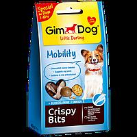 GimDog Little Darling Crispy Bits Mobility Мясные шарики с глюкозамином для собак мелких пород