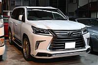 Аэродинамический обвес Modellista на Lexus LX 570 2016-