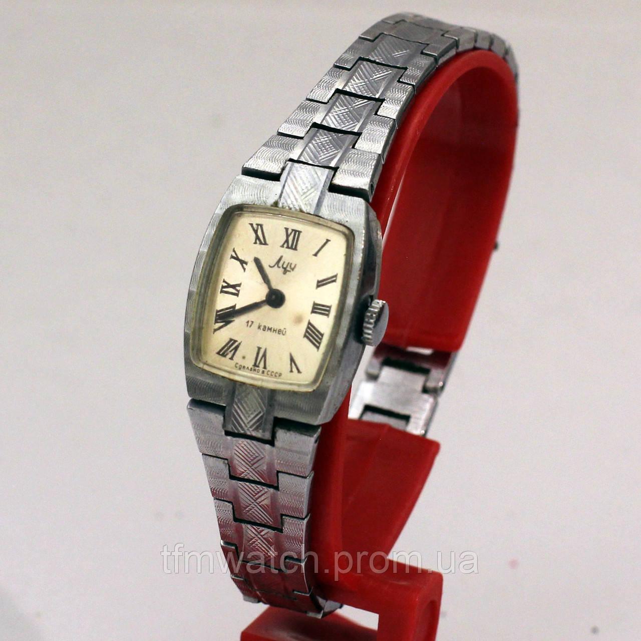 Луч советские женские часы