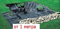 Пленка черная рулонная для тепло- и гидроизоляции 1,5 м рукав, 3 м ширина, 90 мкм толщина
