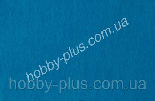 Фетр мягкий 1.4 мм, СИНИЙ, 20x30 см, Hobby&You