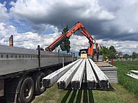 Установка железобетонных опор в Харькове, опоры ЛЭП