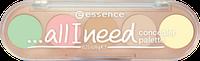 Essence Палетка Консилеров 5в1 …All I need Concealer Palette