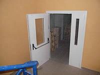 Двери противопожарные с остеклением