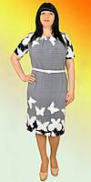 Женское платье в свободном крое