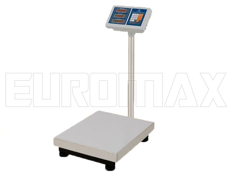Электронные торговые весы Чемпiон 150 кг 40х50см