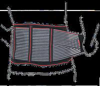 Пояс поддерживающий с почечными пелотами ReMED, (черный/серый)