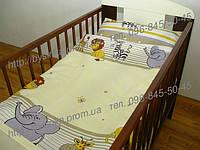 """Детское постельное в кроватку из 3-ед-""""Мадагаскар"""""""