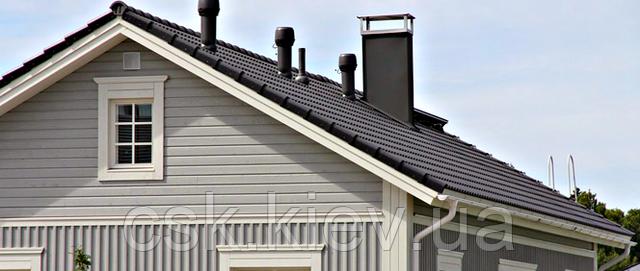 Вентиляция Vilpe на крыше дома