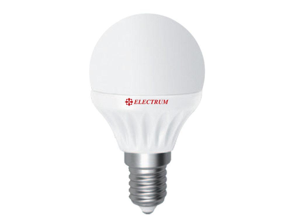 LED лампа Electrum LB-10 4W E14 4000K (яркий свет)