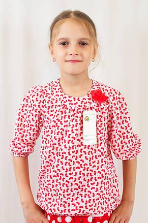 3acadbd487b Модная нарядная летняя блуза на девочку из шифона с бантом  продажа ...