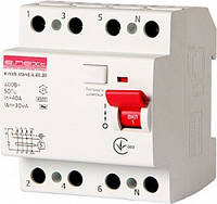 УЗО Выключатель дифференциального тока e.rccb.stand.4.40.30 4р, 40А, 30mA