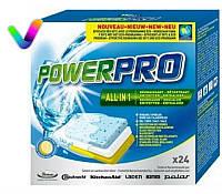 Таблетки для посудомоечной машины POWERPRO WPRO 24 шт код 484000001148 (...8429)