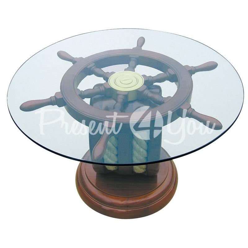 Морской сувенир стол, h-42 см.,d-66 см., Sea Club
