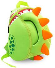 Детский рюкзак дракон Nohoo NH023 салатовый на 4 л