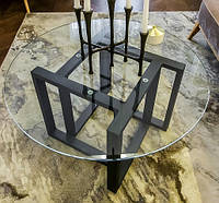"Стеклянный стол ""Рейнеган"""