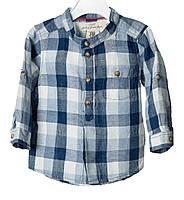 Рубашка в клетку 6-9 м (М)