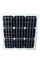 Монокристалическая солнечная панель (батарея) ALM-30M 30Вт