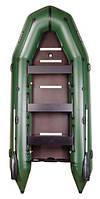 Надувная лодка Bark BT420S Bark килевая с жестким днищем, восьмиместная