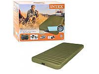 Односпальный надувной матрас с электрическим насосом 68727 Intex