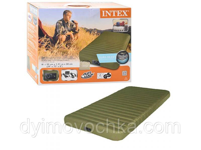 Матрас надувной односпальный с электрическим насосом купить надувной матрас по интернету