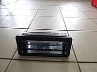 Крышка для магнитофона, пластик, черная