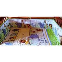 """Детское постельное белье из 6 ед.(без балдахина и кармана)- """"Мадагаскар"""", фото 1"""
