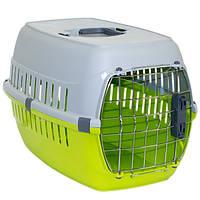 Moderna МОДЕРНА РОУД-РАННЕР 2 переноска для собак с металлической дверью IATA, 58х35х37 см, зеленый