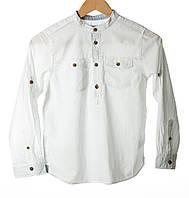 Рубашка белая 9-10 л (М)