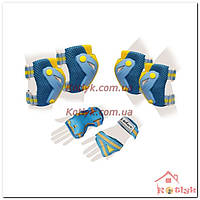 Защита спортивная наколенники, налокотники и перчатки SK-4685BY
