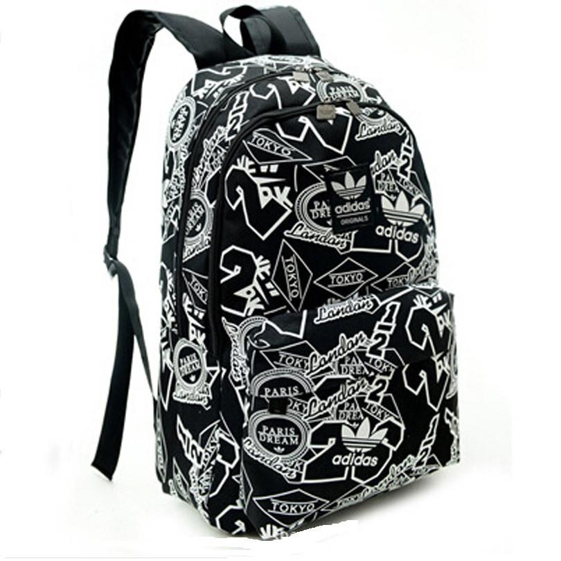 Рюкзак городской Adidas City black реплика