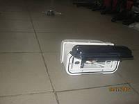 Крышка для магнитофона с шахтой, пластик, белая