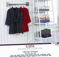 Детский махровый халат U.S. Polo Assn USPA