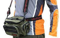 Шейно-поясная сумка + держатель удилища Stakan 100 лайтовик ОЛИВА