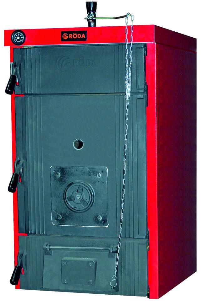 Котел отопления на твердом топливе Roda (Рода) Brenner Max ВM-10