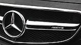 Надпись шильдик AMG в решетку радиатора 463 817 02 00, фото 3