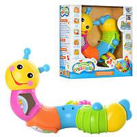 Развивающая игрушка Веселая гусеница 9182