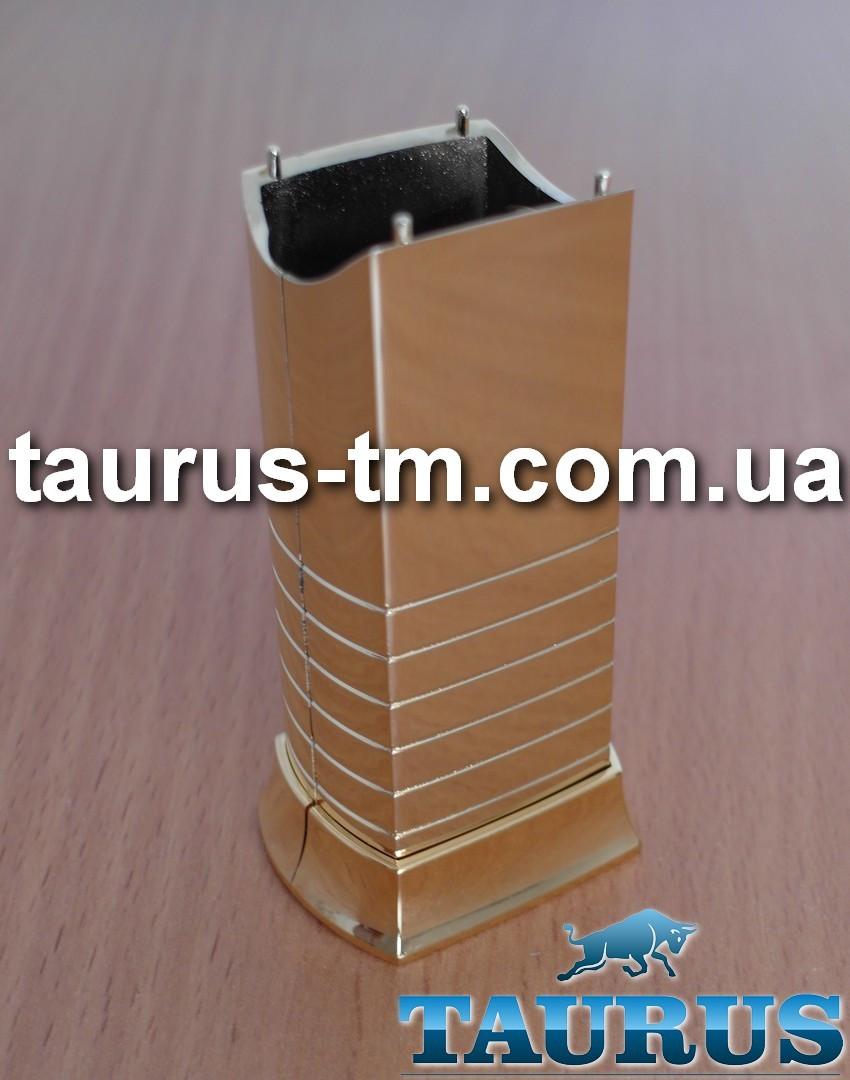 Золотой маскировочный элемент для скрытия кабеля (провода) от электрического ТЭНа, gold