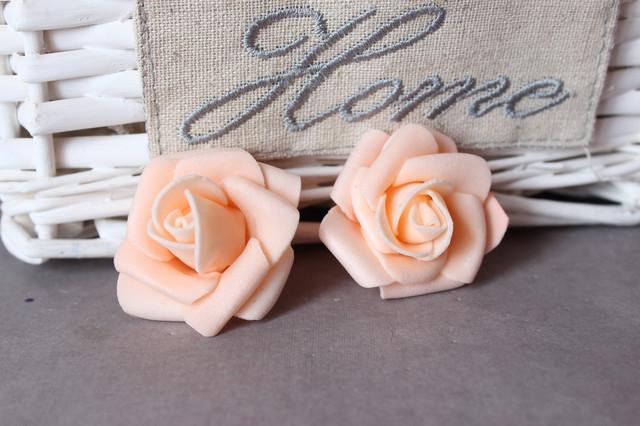 Головки цветов из латекса (фоамирана)