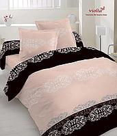Комплект постельного белья, семейный, мако-сатин