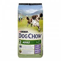 Сухой корм для собак DOG CHOW. С ягненком 14 кг