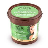 Маска для волос Шелковая для абсолютного увлажнения и блеска волос Planeta Organica