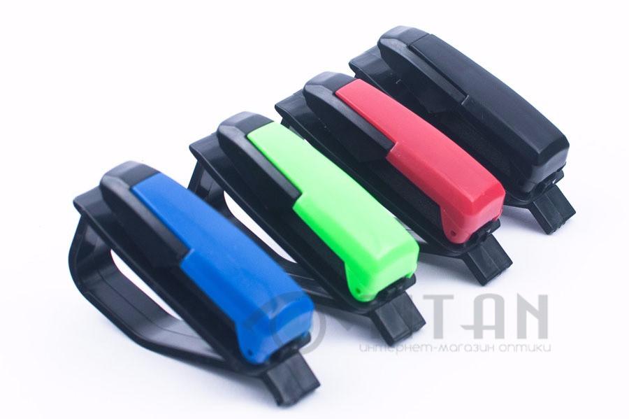 Автомобильный держатель для очков клипса
