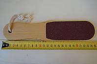 Терка для педикюра деревянная 80\100 грит