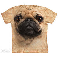 Футболка The Mountain Men's Pug Face. Оригинал из США